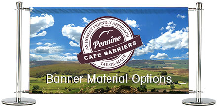 Cafe Barriers And  Cafe Banners