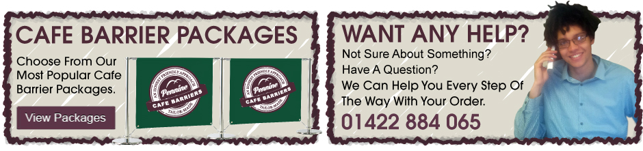 We Can Help With Your Cafe Barrier Order Call Us  Now