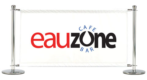 Eau Zone CAfe Banner Sample