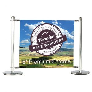 Cafe Barriers and Cafe Banners From Pennine Cafe Barriers - Cafe Barriers Metal Work