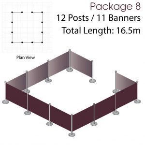 Cafe Barriers and Cafe Banners From Pennine Cafe Barriers - Cafe Barriers Premium Package 8