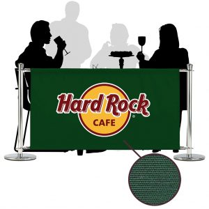 Cafe Barriers and Cafe Banners From Pennine Cafe Barriers - Premium Canvas Banner 1